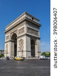paris  france   june 12  2015 ... | Shutterstock . vector #398006407