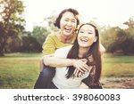 daughter mother adorable... | Shutterstock . vector #398060083