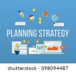 concepts for business analysis... | Shutterstock .eps vector #398094487