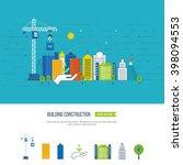 flat design vector concept... | Shutterstock .eps vector #398094553