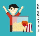 circus food design  | Shutterstock .eps vector #398112763