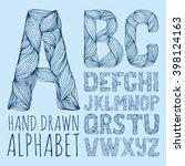Decorative Alphabet Vector Fon...