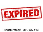 """stamp word """"expired"""" in red... 