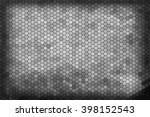 abstract hexagons background.... | Shutterstock . vector #398152543