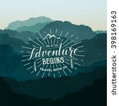 adventure illustration | Shutterstock .eps vector #398169163