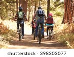 Family Mountain Biking On...