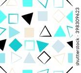 cute vector seamless pattern ....   Shutterstock .eps vector #398309623