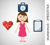 family healthcare design  | Shutterstock .eps vector #398325763