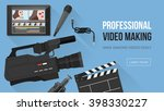 video making  shooting and... | Shutterstock .eps vector #398330227