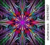 Abstract Flower Mandala On...