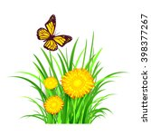 isolated spring vector... | Shutterstock .eps vector #398377267