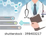 medical vector infographic. | Shutterstock .eps vector #398403217