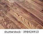 hardwood floor background | Shutterstock . vector #398424913