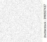 Grey Seamless Autumn Pattern....