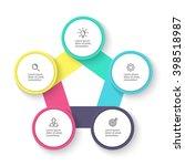 pentagon infographic. chart ...   Shutterstock .eps vector #398518987