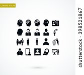 business man icons | Shutterstock .eps vector #398521867