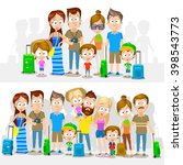 cartoon illustration of big... | Shutterstock .eps vector #398543773