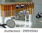 homeopathy globules  | Shutterstock . vector #398545063