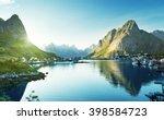 Reine Village  Lofoten Islands...