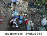 outdoor restaurant near... | Shutterstock . vector #398639953