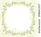 beautiful floral nature pattern ... | Shutterstock .eps vector #398641357