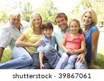 extended group portrait of... | Shutterstock . vector #39867061