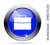 briefcase icon. internet button ...   Shutterstock .eps vector #398673133