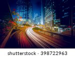 hong kong cityscape 2016 | Shutterstock . vector #398722963