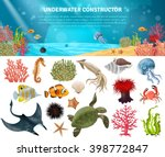 Sea Life Animals Plants And...