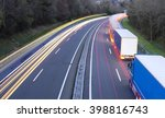 truck traffic light in the road ... | Shutterstock . vector #398816743