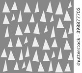 seamless triangle pattern.... | Shutterstock .eps vector #398877703