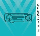social media design  | Shutterstock .eps vector #398925583