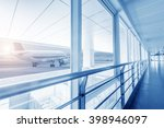 interior of the shanghai pudong ... | Shutterstock . vector #398946097