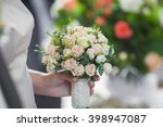 wedding flowers | Shutterstock . vector #398947087