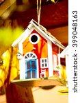 Red Bird House  Blue Bird Hous...