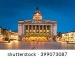 nottingham council house front... | Shutterstock . vector #399073087