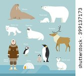 animals and people living in... | Shutterstock .eps vector #399137173
