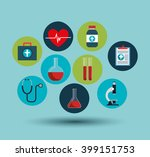 medical care design  | Shutterstock .eps vector #399151753