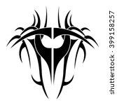 tribal background design  | Shutterstock .eps vector #399158257