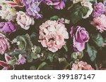 beautiful bouquet flower for... | Shutterstock . vector #399187147