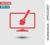 monitor  design   icon. one of...