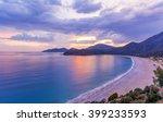 Sunset Of Oludeniz In Fethiye