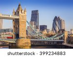 london  england   iconic tower...   Shutterstock . vector #399234883