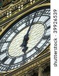 Big Ben Close Up  Tea Time ...