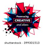 vector illustration of colorful ... | Shutterstock .eps vector #399301513