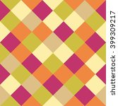 colorful seamless pixel pattern.... | Shutterstock .eps vector #399309217