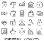 the set contains 20 fully... | Shutterstock .eps vector #399319993