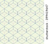 vector seamless pattern. modern ... | Shutterstock .eps vector #399419647