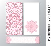 banner template collection with ... | Shutterstock .eps vector #399436567