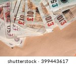 Stock photo british pound banknotes currency of the united kingdom 399443617